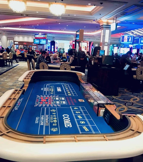 Las Vegas Casino Risk Craps Chance Gamble